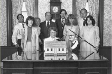 1980's: Ebbmascot