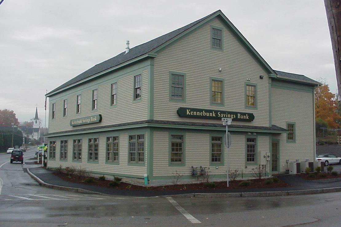 exterior of Berwick Branch