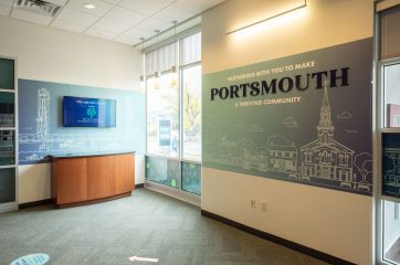 2020 Portsmouth branch interior