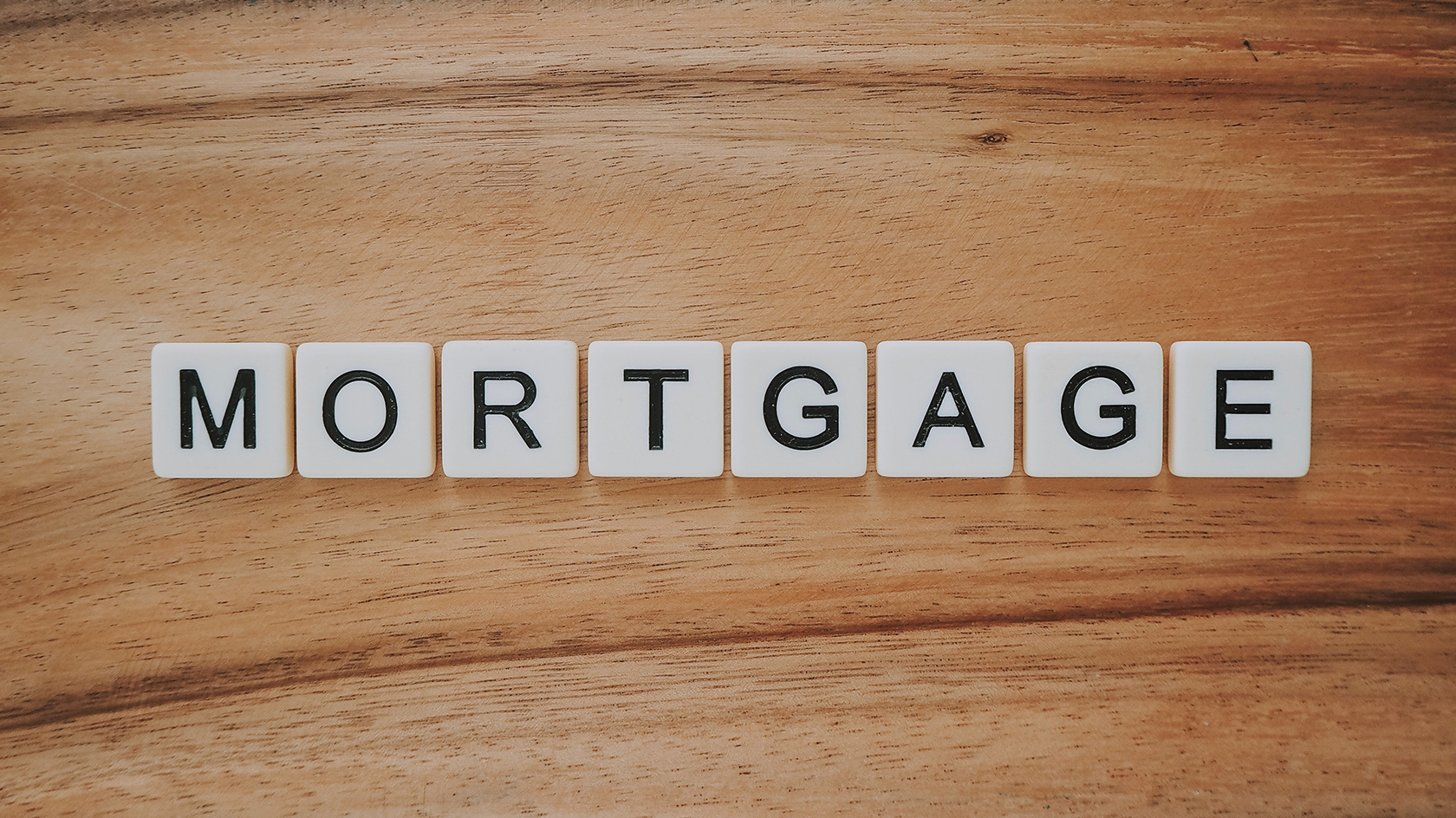 mortgage scrabble letters
