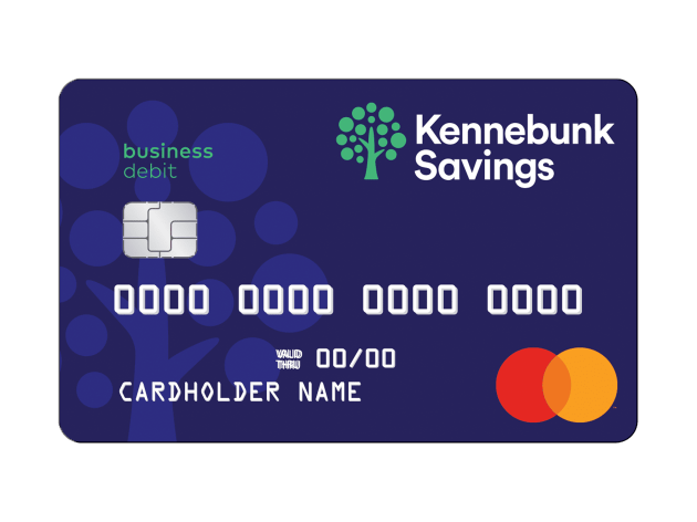 Business Debit Card illustration