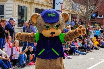 Kenny the Bear at May Day