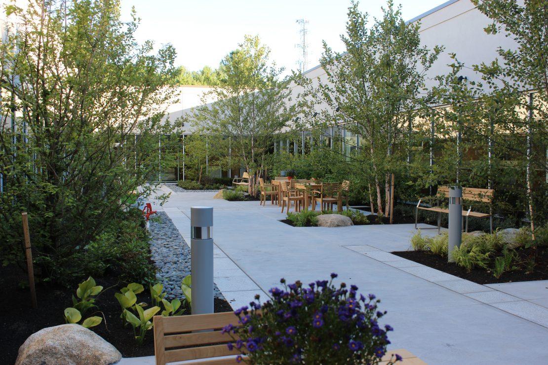OC courtyard garden
